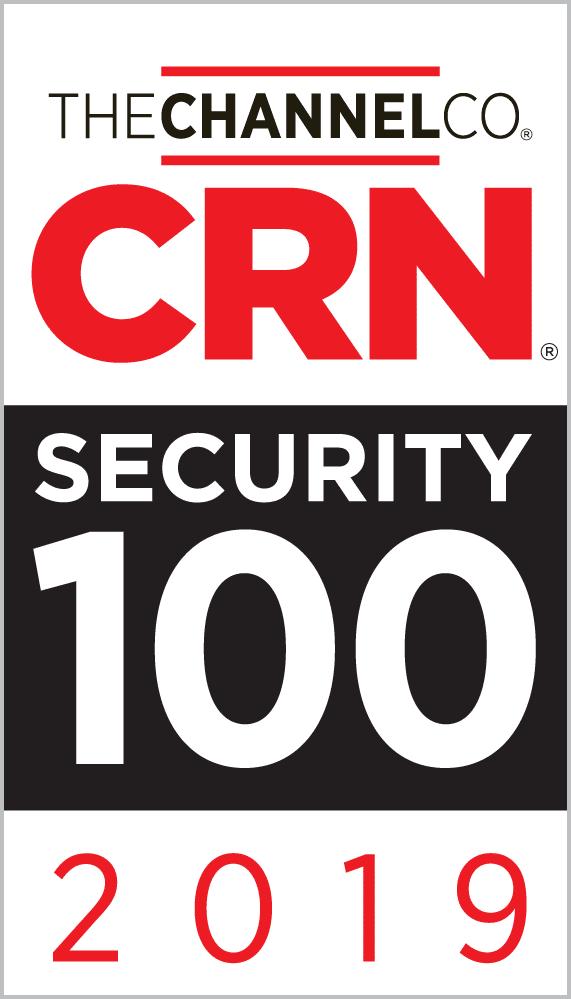 Cinch IT award CRN's 2019 Top 100 Security Award