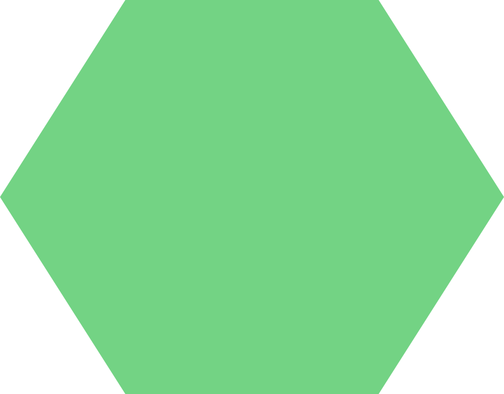 Cinch Green Polygon background