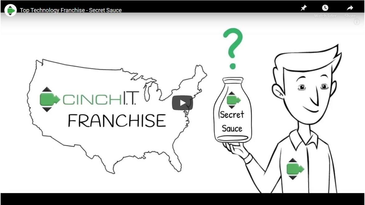Top Technology Franchise - Secret Sauce